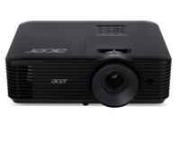Acer X138WH Desktop-Projektor 3700ANSI Lumen DLP WUXGA (1920x1200) 3D Schwarz Beamer (Schwarz)