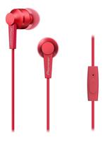 Pioneer SE-C3T im Ohr Binaural Verkabelt Rot Mobiles Headset (Rot)