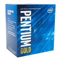 Intel Pentium Gold ® ® G5500 Processor (4M Cache, 3.80 GHz) 3.8GHz 4MB Box Prozessor