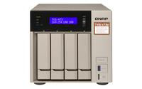 QNAP TVS-473e-8G NAS Tower Eingebauter Ethernet-Anschluss Grau (Grau)