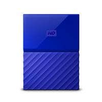 Western Digital My Passport 2000GB Blau Externe Festplatte (Blau)