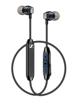 Sennheiser CX 6.00BT im Ohr Binaural Kabellos Schwarz, Blau Mobiles Headset (Schwarz, Blau)