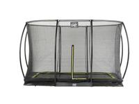EXIT Silhouette Ground + Safetynet Rect. 214x305 (7x10ft) Black (Schwarz)