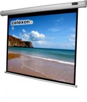 Celexon 1090075 Projektoren Leinwand (Schwarz, Weiß)