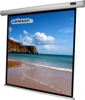 Celexon 1090068 Projektoren Leinwand (Schwarz, Weiß)