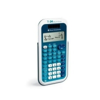 Texas Instruments TI-34 MultiView (Blau, Weiß)