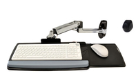 Ergotron LX Wall Mount Keyboard Arm (Silber)