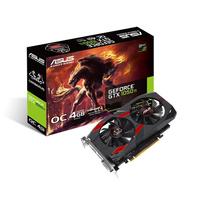 ASUS CERBERUS-GTX1050TI-A4G GeForce GTX 1050 Ti 4GB GDDR5 (Schwarz, Rot)