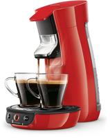 Senseo Viva Café Kaffeepadmaschine HD6563/80 (Rot)