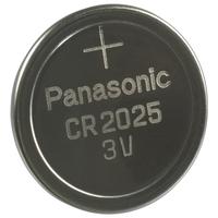 Panasonic CR2025 Batterie (Edelstahl)
