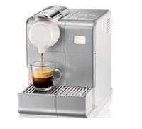 DeLonghi Dedica Style Lattisima Touch Freistehend Pad-Kaffeemaschine 0.9l Silber (Silber)