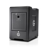 G-Technology G-Speed Shuttle 24000GB Desktop Schwarz Disk-Array (Schwarz)