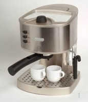 DeLonghi EC330S Pump-Driven Espresso Maker (Edelstahl)