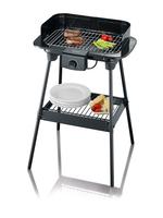 Severin PG 8544 Grill Tisch Elektro Schwarz 2300W Barbecue & Grill (Schwarz)