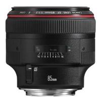 Canon EF 85mm f/1.2 L USM II Lens (Schwarz)