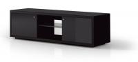 Just-Racks JRA150-SW-SG-BG Flat panel Bodenhalter (Schwarz)