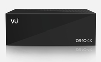 Vu+ Zero 4K Kabel, Ethernet (RJ-45), Satellit Full-HD Schwarz TV Set-Top-Box (Schwarz)