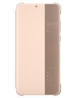 Huawei Smart View Flip Cover 6.1Zoll Blatt Pink, Durchscheinend (Pink, Durchscheinend)