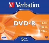 Verbatim DVD-R Matt Silver