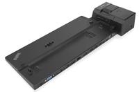 Lenovo 40AJ0135EU Schwarz Notebook-Dockingstation & Portreplikator (Schwarz)