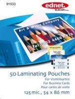 Ednet 91533 Laminatortasche (Transparent)