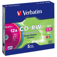 Verbatim CD-RW Colour 12x