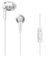 Pioneer SE-C3T im Ohr Binaural Verkabelt Weiß Mobiles Headset (Weiß)