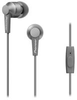 Pioneer SE-C3T im Ohr Binaural Verkabelt Grau Mobiles Headset (Grau)