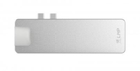 LMP 17278 USB 3.0 (3.1 Gen 1) Type-C 5000Mbit/s Silber Schnittstellenhub (Silber)