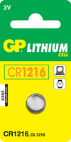 GP Batteries Lithium Cell CR1216 (Edelstahl)