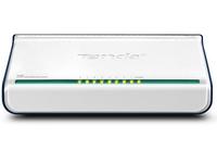 Tenda 8-Port Fast Ethernet Switch Nicht verwalteter Netzwerk-Switch Weiß (Weiß)