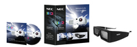 NEC 100012688 stereoscopische 3D-brille/Fernglas (Schwarz)