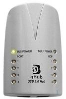 Dr. Bott gHub 2.0 4-Port USB 2.0 Hub (Silber)