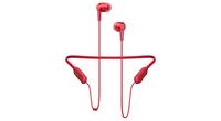 Pioneer SE-C7BT Nackenband Binaural Kabellos Rot Mobiles Headset (Rot)
