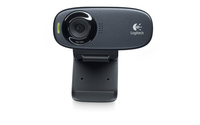 Logitech C310 5MP 1280 x 720Pixel USB Schwarz Webcam (Schwarz)