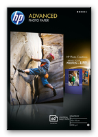 HP Q8008A Fotopapier (Schwarz, Blau, Weiß)