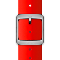 Nokia 4381625 Watch strap Silikon, Edelstahl Rot Uhrenarmband (Rot)