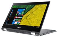 Acer Spin SP513-52NP-870E 1.80GHz i7-8550U Intel® Core™ i7 der achten Generation 13.3Zoll 1920 x 1080Pixel Touchscreen Grau Hybrid (2-in-1) (Grau)