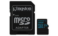 Kingston Technology Canvas Go! 32GB MicroSDHC UHS-I Klasse 10 Speicherkarte (Schwarz)