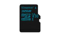 Kingston Technology Canvas Go! 32GB MicroSDHC UHS-I Klasse 10 Speicherkarte (Schwarz)