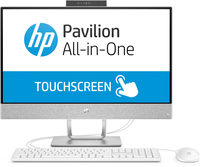 HP Pavilion 24-x055ng 3.4GHz i3-7100T Intel® Core™ i3 der siebten Generation 23.8Zoll 1920 x 1080Pixel Touchscreen Weiß All-in-One tablet PC (Weiß)