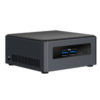 Intel NUC NUC7i7DNHE BGA 1356 1.9GHz i7-8650U UCFF Schwarz (Schwarz)