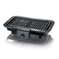 Severin PG 8518 Grill Tisch Elektro Schwarz 2500W Barbecue & Grill (Schwarz)
