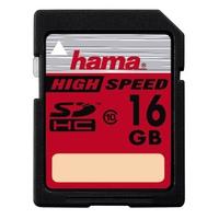 Hama 16GB SDHC (Schwarz)