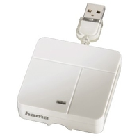 Hama 00094125 Kartenleser (Weiß)