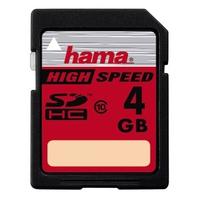 Hama 4GB SDHC (Schwarz)