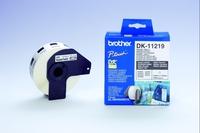 Brother DK-11219 Round Labels (Weiß)