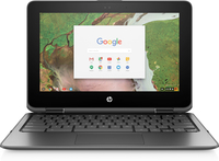 HP Chromebook x360 11 G1 EE 1.10GHz N3350 Intel® Celeron® 11.6Zoll 1366 x 768Pixel Touchscreen Schwarz Chromebook (Schwarz)
