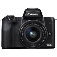 Canon EOS M50 Systemkamera 24.1MP CMOS 6000 x 4000Pixel Schwarz (Schwarz)