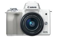 Canon EOS M50 Systemkamera 24.1MP CMOS 6000 x 4000Pixel Weiß (Weiß)
